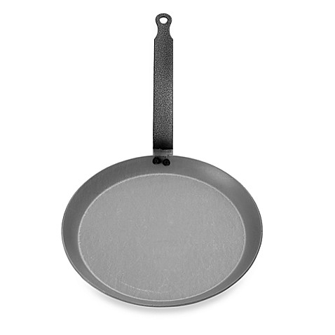 Mauviel M'steel 9.5-Inch Crepe Pan