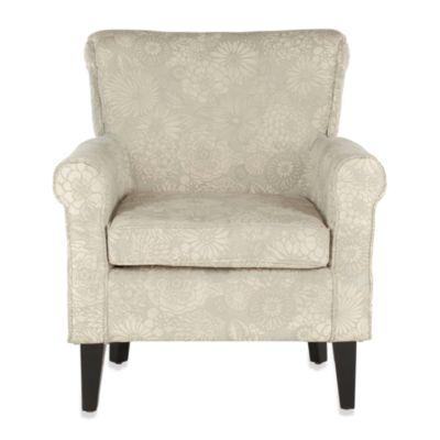 Safavieh Hazina Club Chair in Mist
