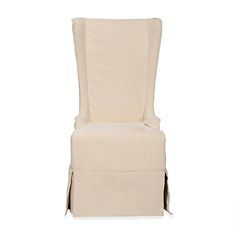Safavieh Becall Slipcover Dining Chair in Natural