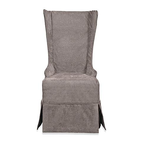 Safavieh Becall Slipcover Dining Chair - Grey