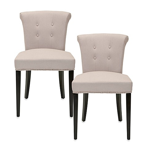 Safavieh Arion Ring Chair in Linen (Set of 2)