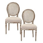 Safavieh Lehana Side Chair in Grey (Set of 2)