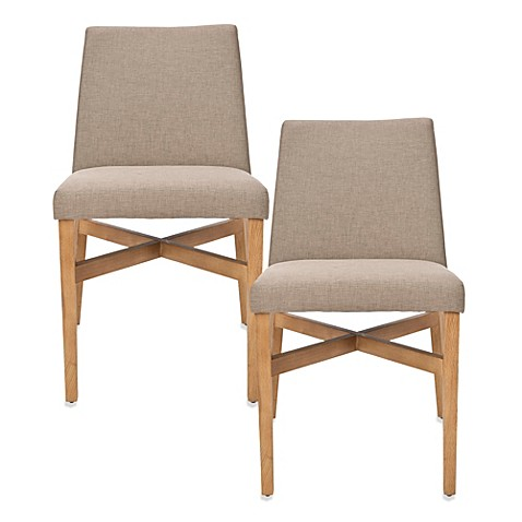 Safavieh Duncan Side Chair in Olive (Set of 2)