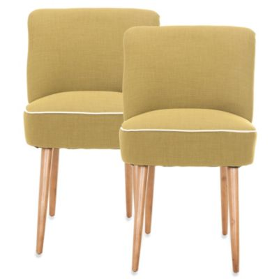 Safavieh Otis Dining Chair in Green (Set of 2)
