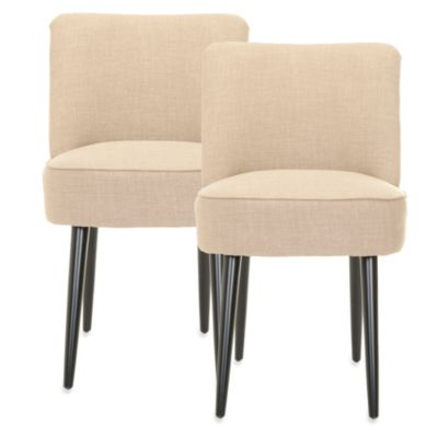 Safavieh Otis Dining Chair in Olive (Set of 2)