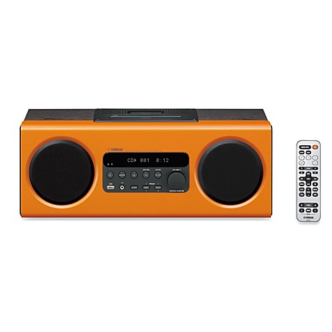 Yamaha Desktop Audio System in Orange