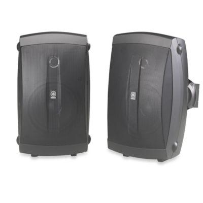 Yamaha Outdoor 2-Way Speakers in Black