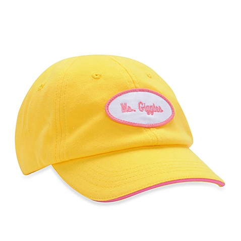 Blume™ Yellow Ms. Giggles Infant Hat