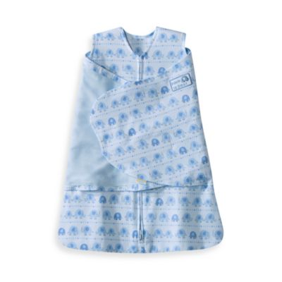 HALO® SleepSack® Newborn Swaddle in Blue Elephant