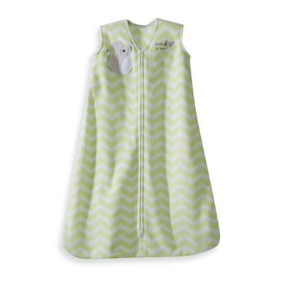 HALO® SleepSack® Large Wearable Blanket in Green Zigzag Mouse