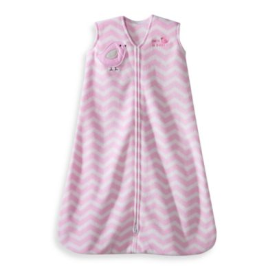 HALO® SleepSack® Medium Wearable Blanket in Pink Zigzag Bird