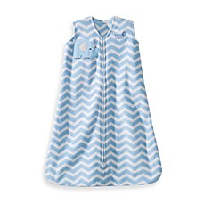 HALO® SleepSack® Wearable Blanket in Blue Zigzag Elephant