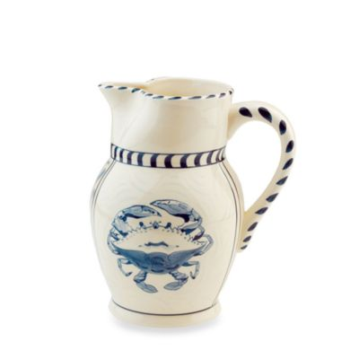 Blue Crab Bay Co.® Cream Pitcher