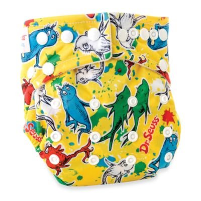 Bumkins® All-in-One One Size Cloth Diaper in One Fish