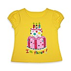 Kidtopia Yellow I'm Three! Tee