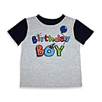 Kidtopia Grey Birthday Boy Tee