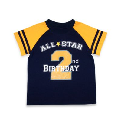 Kidtopia All Star 2nd Birthday Tee - 4T