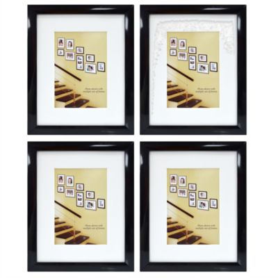 Mix and Match Four-Pack Frame Set in Black