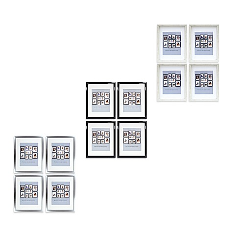 Mix and Match Large Four-Pack Photo Frames