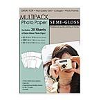 Multipack Photo Paper Assortment