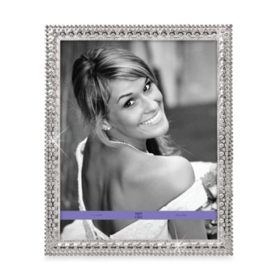 Argento Crystal And Silver 11-Inch x 14-Inch Frame
