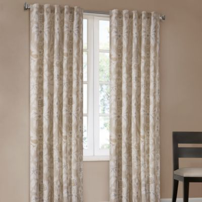 Echo Design™ Positano Print 95-Inch Window Curtain Panel in Lagoon