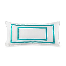 Trina Turk® Seafoam 22-Inch Oblong Toss Pillow