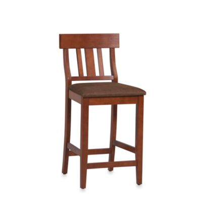 30-Inch Slat Back Barstool
