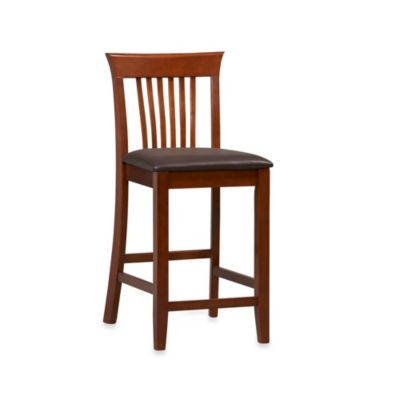 Craftsman 24-Inch Counter Stool in Cherry