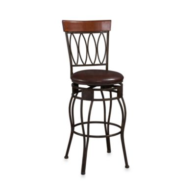 Oval Back 24-Inch Counter Stool