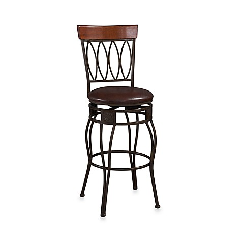 Buy Oval Back 24 Inch Counter Stool From Bed Bath Amp Beyond