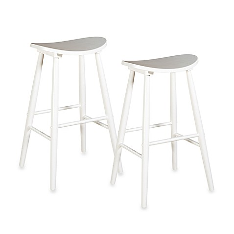 Amarillo Stool in White