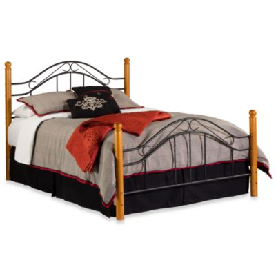 Hillsdale Winsloh King Bed Set with Post Kit and Rails