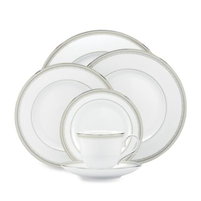 Lenox® Belle Haven 5-Piece Place Setting in White