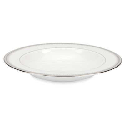 Lenox® Belle Haven Rim Soup Bowl in White