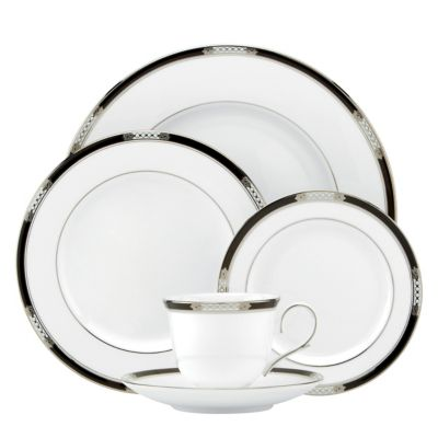 Lenox® Hancock® Platinum White 5-Piece Place Setting
