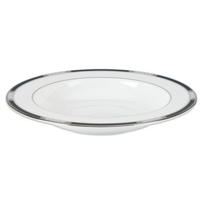Lenox® Hancock® Platinum White Rim Soup Bowl