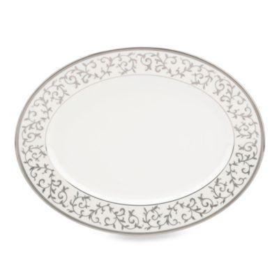 Lenox® Opal Innocence™ Silver Oval Platter