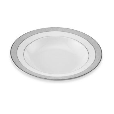 Slate White Platinum Soup Bowl