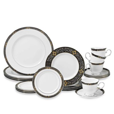 20-Piece Blue Dinnerware Set