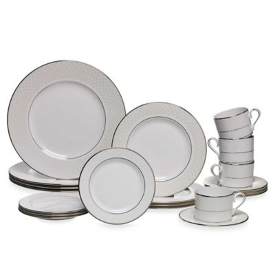Lenox® Venetian Lace 20-Piece Dinnerware Set in White