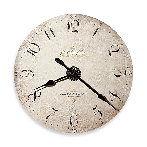 Howard Miller Enrico Fulvi Gallery Wall Clock