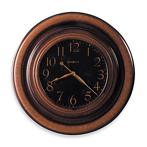 Howard Miller Rockwell Brown Gallery Wall Clock