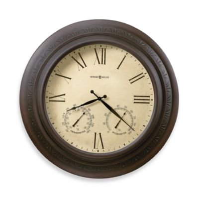 Howard Miller Copper Harbor Indoor/Outdoor Wall Clock