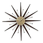 Cupecoy Design Sunburst Wall Clock