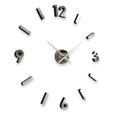 Cupecoy Design Do-It-Yourself Metal Wall Clock