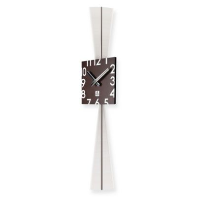 Cupecoy Design Wooden Square Pendulum Wall Clock