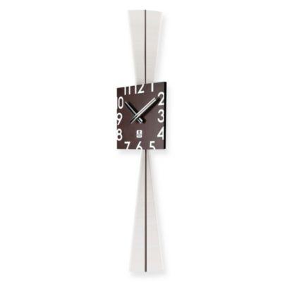 Cupecoy Design Wooden Square Pendulum Wall Clock