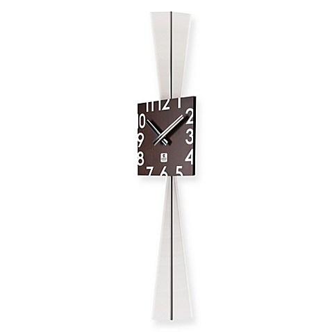 Buy Cupecoy Design Wooden Square Pendulum Wall Clock From