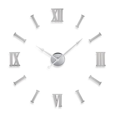 Do It Yourself Roman Numerals Metal Wall